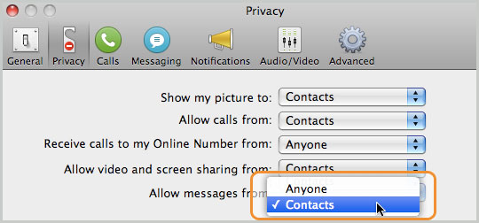 how to keep skype online all the time